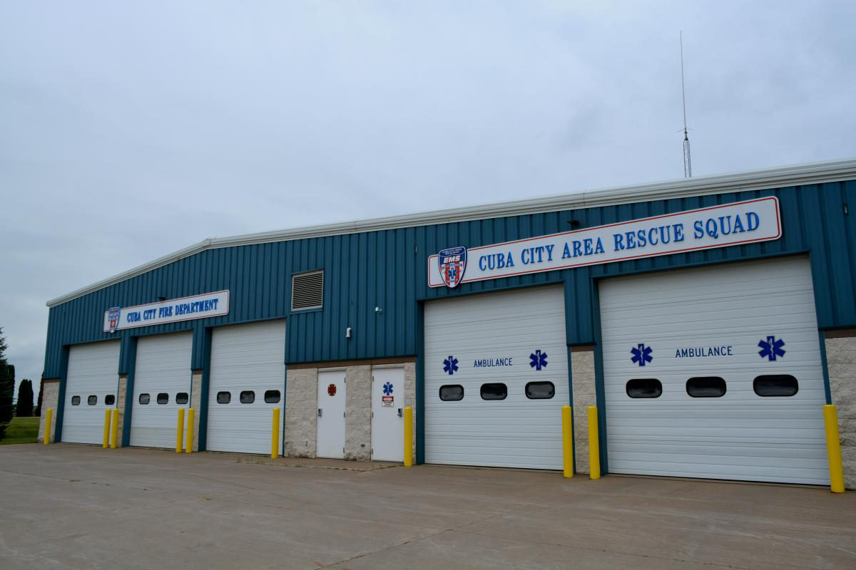 Cuba City Fire Department and EMS Building